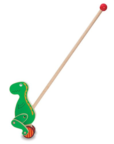 Manhattan Toy - 210860 - Jouet de Premier Age - Push Pal - Dino