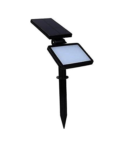 HomJo Solar Powered Spotlight 48 LED Solar Lamp Color changeable IP65 Waterproof Outdoor Garden Landscape Yard Spot Light