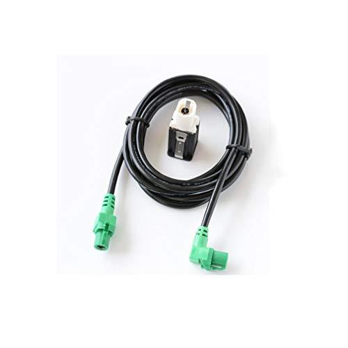 Leoboone 1,5 M USB-Schalterblock USB-Schalter mit Kabel für Bmw 3-Serie/X / X6 / Z-Serie E87Lci / E88 / E90 / E90Lci / E91 / E91Lci -