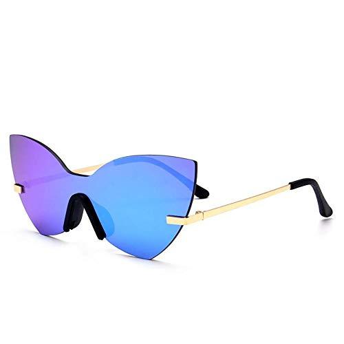 GuiSoHn Sonnenbrille Einteilige Sonnenbrille In Schmetterlingsform Outdoor UV 400 Brille für Fahren Angeln Reisen