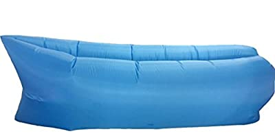 Homiu Inflatable Air Lounger Couch with Carry Bag, Relax Use as Chair, Sofa, Mattress, Bed, Float for Indoor/Outdoor Hiking, Camping, Beach, Park, Backyard, Pool - cheap UK light store.