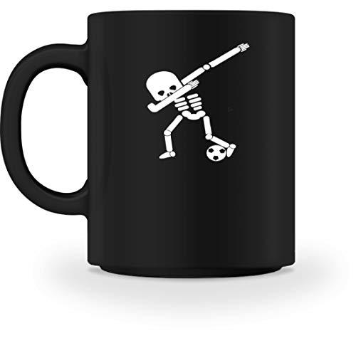 Generic Dabbing Skelett Fußball Spielen Spieler WM Halloween Dab - Schlichtes Und Witziges Design - Tasse (Fußball-spieler Für Halloween)