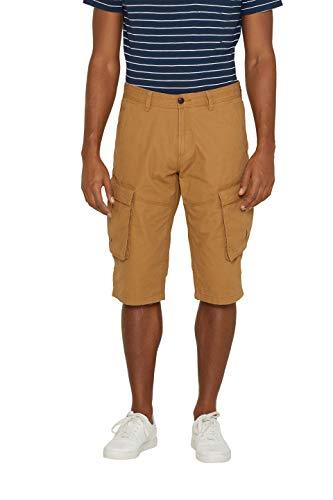ESPRIT Herren 049EE2C002 Shorts, Braun (Camel 230), W(Herstellergröße: 29) -