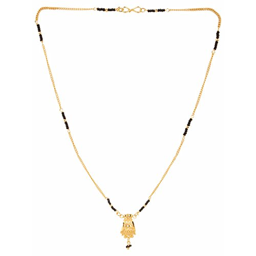 Efulgenz Designer Jewellery Gold Plated Ethnic Mangalsutra Pendant with chain for Women  available at amazon for Rs.167