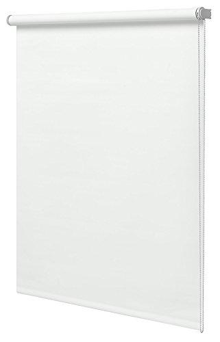 Estor Enrollable Translúcido 120x180cm Liso Blanco