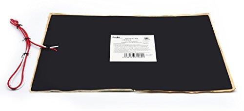 Facon 30cm x 45.8 cm RV Camper remolque Depósito de agua calentador Pad de Control con termostato automático 12 V DC (Pack de 2)