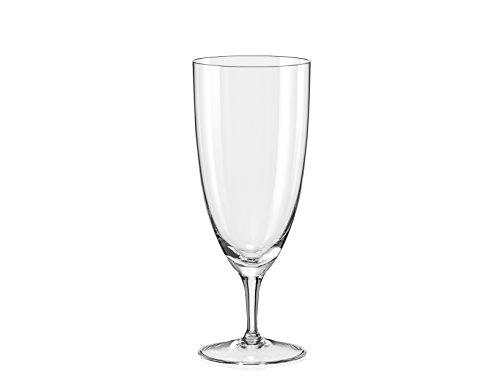 Bohemia Crystal Kate, Lot de 6 Verres à bière 38 cl Verre, Transparent, 25 x 17 x 21 cm