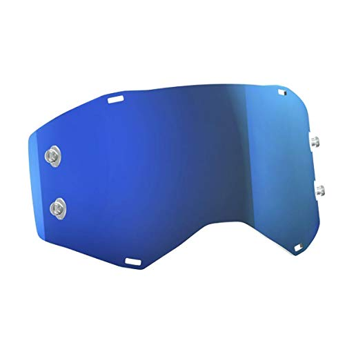 Scott Goggle Ersatzscheibe für Prospect/Fury Electric blau Chrom AFC Works -