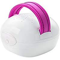 Medisana AC 855 - Masajeador para celulitis por amasamiento, succion e infrarrojos, color blanco y fucsia