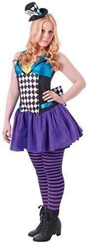 Fancy Me Teen &Ältere Mädchen Eklektische Hatter Welttag des Buches-Tage-Woche Halloween Karneval Kostüm Kleid Outfit 12-15yrs