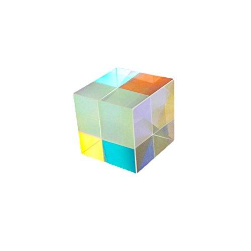 12,7 12,7 12,7 mm X-Cube Sechseitiges Helles Licht Cube Glasmalerei Experiment Instrument Optische Linse Prisma Strahl Aufteilung Prisma Optisch