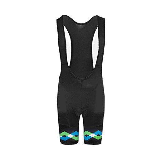 UglyfrogBike-Wear Atmungsaktive, Kurze Herren Rennrad-Trägerhose, Mit Sitzpolster, Bib Shorts+ -