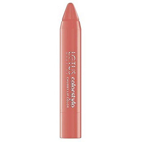 Lotus Herbals Colorstylo Chubby Lip Color, Nude Blush, 3.7g