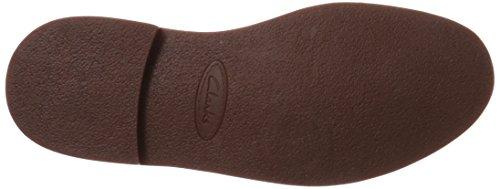 CLARKS Herren-Stiefel Bushacre 2 Chukka, rot, Größe: 40 Beeswax