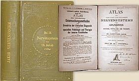 Atlas des gesunden und kranken nervensystems nebst grundriss der anatomie, pathologie un therapie. Mit einem vorwort von Ad. Strünpell. par JAKOB Christfried.
