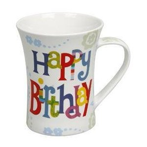 Gift for Her/Him Mug Motif Happy Birthday