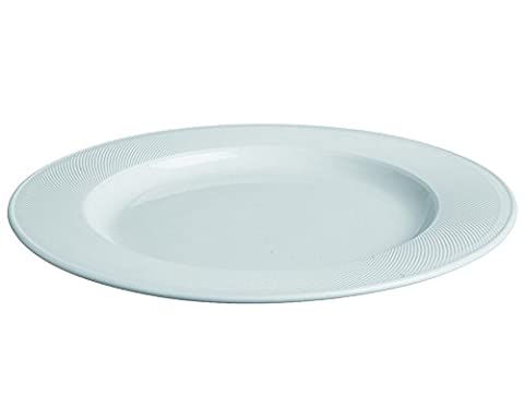 Tognana 30 cm Porcelain Graffiti Round Platter, Off-White