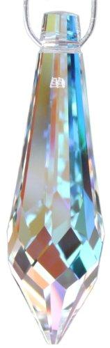 Original SWAROVSKI ELEMENTS Kristall Glas Facetten Zapfen Aurore Boreal (AB) 40mm, verpackt