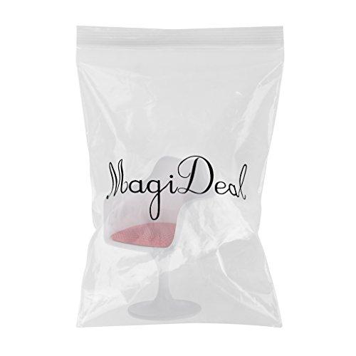 MagiDeal 1:12 Camera Da Letto Miniatura Mobilia Poltrona Tulipano Sedia Girevole Decorazioni Accessori Di Bambole Arredo Giardino