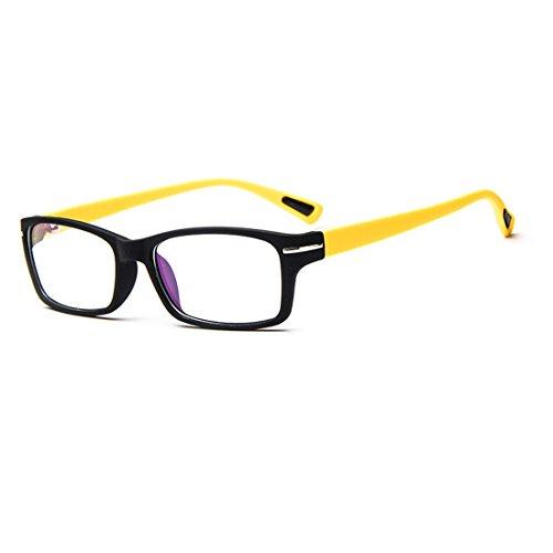 Sunbo Damen Brillengestell Gr. Einheitsgröße, Schwarz / Gelb (Geeks Und Nerds Fancy Dress)