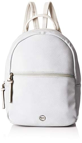 Tamaris Damen Aurora Backpack Rucksackhandtasche, Grau (Light Grey Comb), 14x30x22 cm