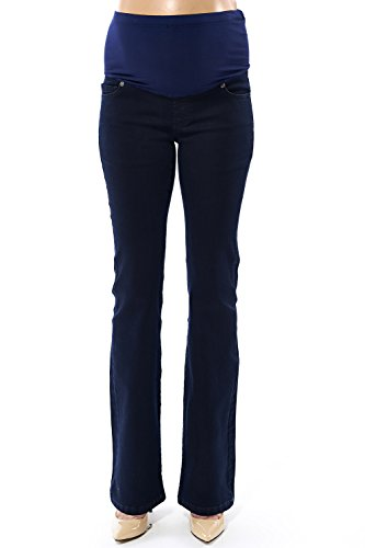 motherway - Jeans spécial grossesse - Evasé - Femme Marin