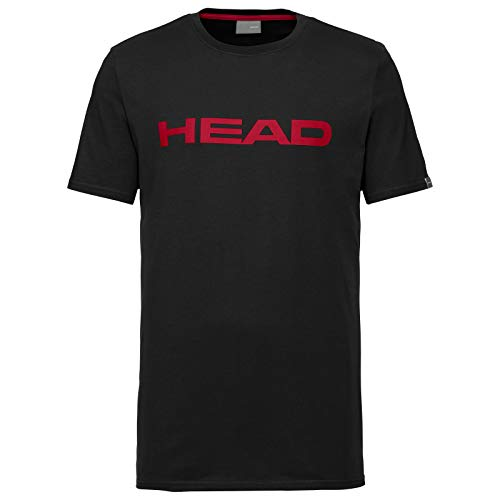 HEAD Herren Club Ivan M T-Shirts, Schwarz (black/Red), - Tennis Herren Head