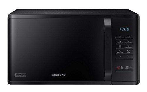 Samsung MS23K3513AK Comptoir - Micro-ondes (Comptoir, Micro-ondes uniquement, 23 L, 800 W, boutons, Noir)