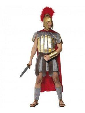 Gladiator Römerkostüm Deluxe Römer Kostüm Krieger Gr. 48/50 (M), 52/54 (L), ()