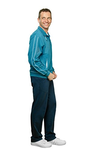 Michaelax-Fashion-Trade -  Giacca sportiva - Basic - Uomo Petrol (360)