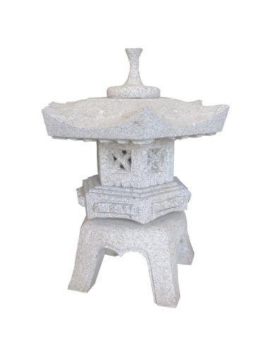 Laterne aus Granit Nr. 2 Größe 54 cm (Japanische Bausteine)