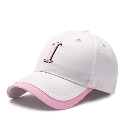 ommer Hut Weiß Baseballmütze Für Frauen Baumwolle Tennis Outdoor Marke Eine Kappe Für EIN Mädchen Jugend Hüte ()