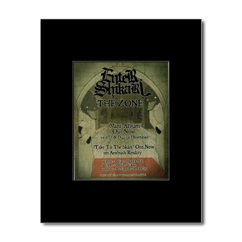 Music Ad World ENTER SHIKARI - The Zone Mini Poster, used for sale  Delivered anywhere in UK