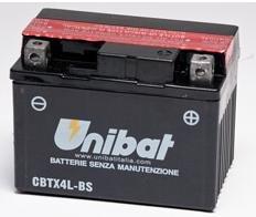 Unibat Batteria CTX5L-BS comparativa ytx5l-bs
