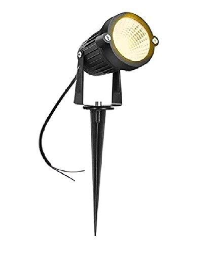 D'MakTM LED Outdoor Garden Spike Light 3W IP65, Warm White, with 1 Year Warranty, Aluminium Body   Garden Lights     3w Garden Light  