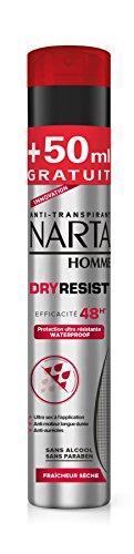 Narta - Déodorant Homme Atomiseur Dry Resist - 250 ml