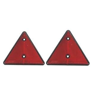 Dreiecks-Reflektoren für Wohnwagen / Anhänger, LMX1660, 2 Stück