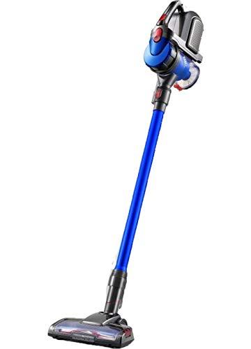 RQINW Handheld Home Wireless Staubsauger DC-18V150W9KPA Super Vakuum 180 ° Rotierenden LED Beleuchtung 75Db Stumm Arbeits 2200 Mah Wiederaufladbare Technologie, Blau