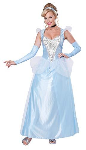 California costume o1345, vestito donna, blu, s