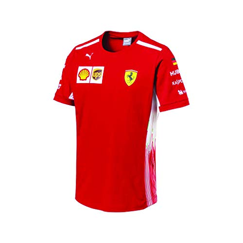 Puma Ferrari Scuderia F1 Racing Driver Sebastian Vettel Tshirt, XL