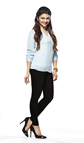 Lux Lyra Women's Black Churidar Leggings  available at amazon for Rs.240