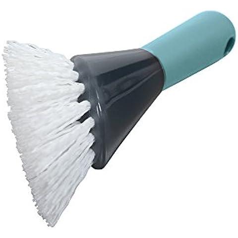 Casabella Smart Scrub cepillo de drenaje Heavy Duty, Azul