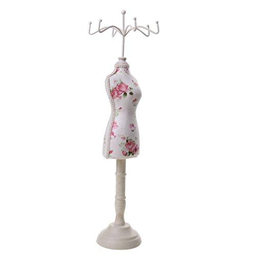 Harz Schmuckständer Mannequin/Schaufensterpuppe, Modellform, Weihnachten, Geburtstag, Idee als Geschenk - Gartenblume