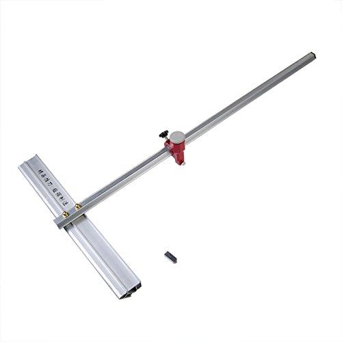 T-förmiger Glasschneider, Aluminiumlegierung, 60 cm lang