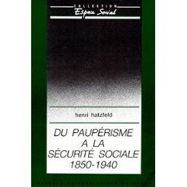 Du paupérisme à la sécurité sociale