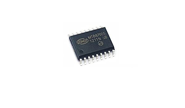 10pcs MITEL MT8870DS IC 18-SOIC SMD NOS MT8870 8870DS Brand New