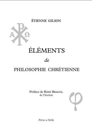 Elments de Philosophie chrtienne