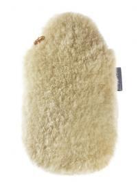 Fashy Wärmflasche 2,0L mit Lammfell natur