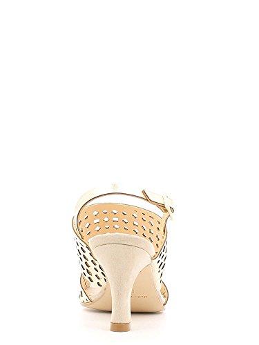 GRACE SHOES 7427 Sandalo Tacco Donna Platino