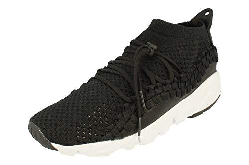 Nike Herren Air Footscape Nm Woven FK Fitnessschuhe, Schwarz Black/White 001, 44 EU